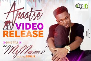 Apaatse to premiere 'My Name' music video