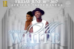Joey B for 10th annual Canada Day All White Affair party
