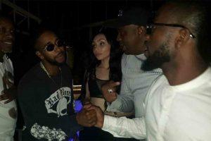 Bisa Kdei parties with American R&B singer Omarion in Kenya