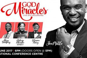"""Joe Mettle to record """"God of Miracles"""" at concert"""