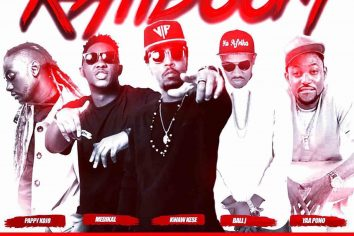 Audio: Katiboom by Kwaw Kese feat. Pappy Kojo, Yaa Pono, Medikal & Ball J