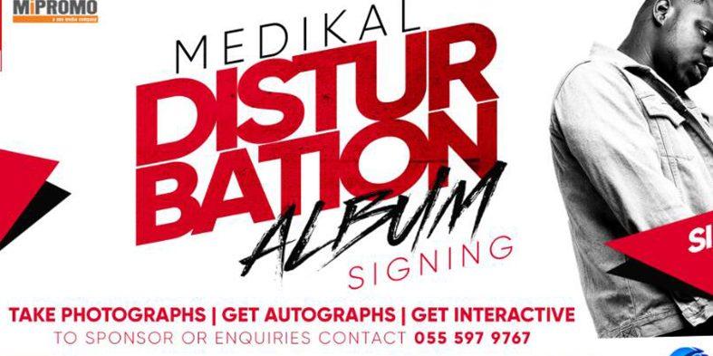 Medikal album signing with fans slated for 1st July