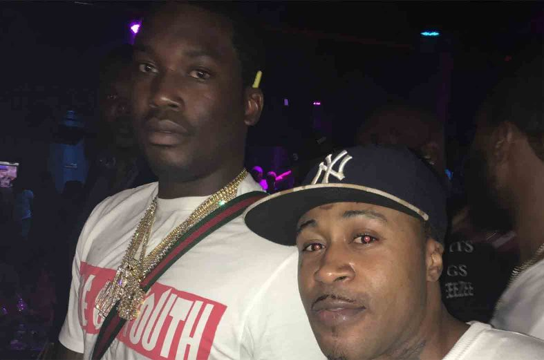 Promzy hangs out with Nicky Minaj's ex lover – Meek Mill