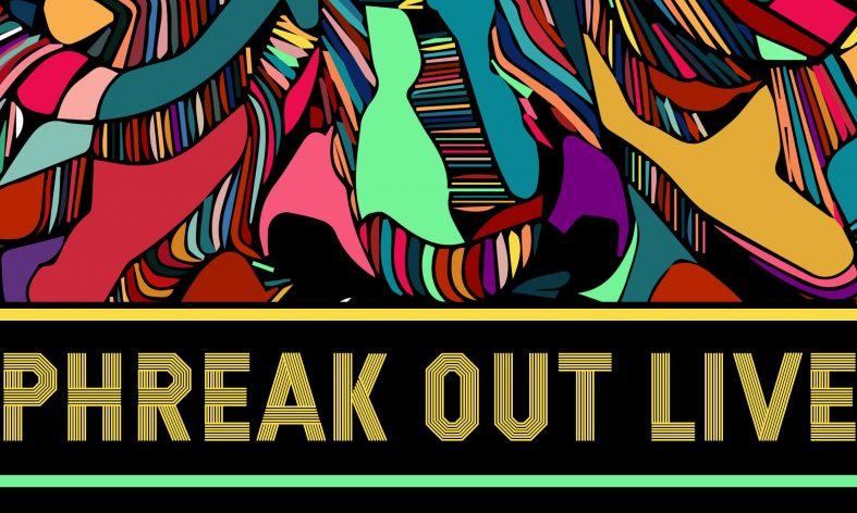 Beat Phreaks outdoors poster art for Phreak Out Live 2017