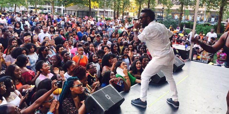 Bisa Kdei rocks Afro Festival in New Jersey, Newark