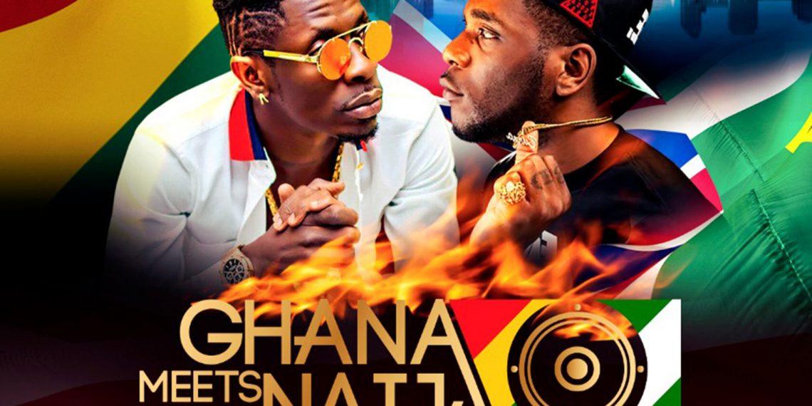 Shatta Wale & Burna Boy for Ghana Meets Naija UK