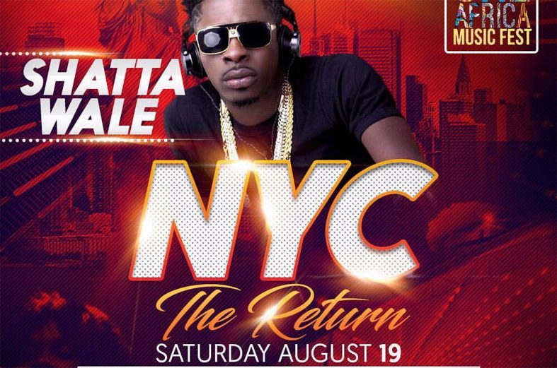 Shatta Wale to perform with Tekno, Davido, P-Square, Cassper Nyovest & more at One Africa Music Fest