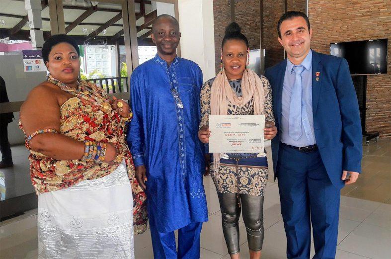 Sherifa Gunu honoured with International Diploma for promoting human sciences