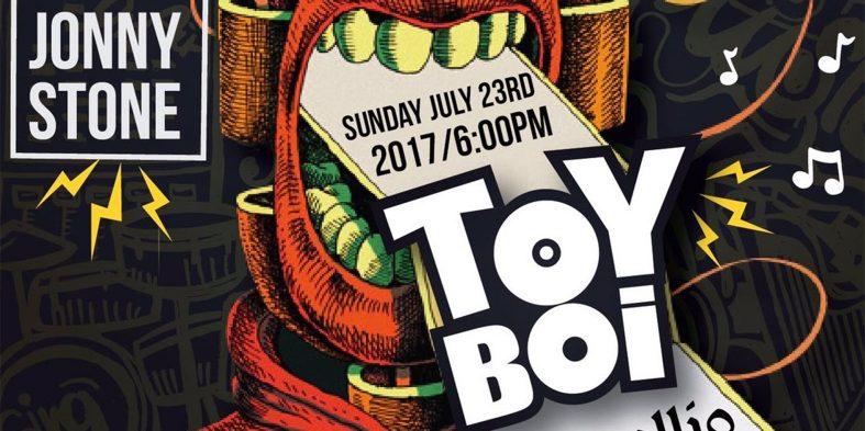 Toy Boi headlines Serallio on Sunday