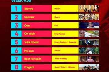 Week #36: Ghana Music Top 10 Countdown