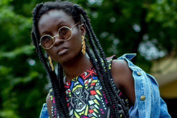 Abena Rockstar for The Hip Hop African Podcast in USA