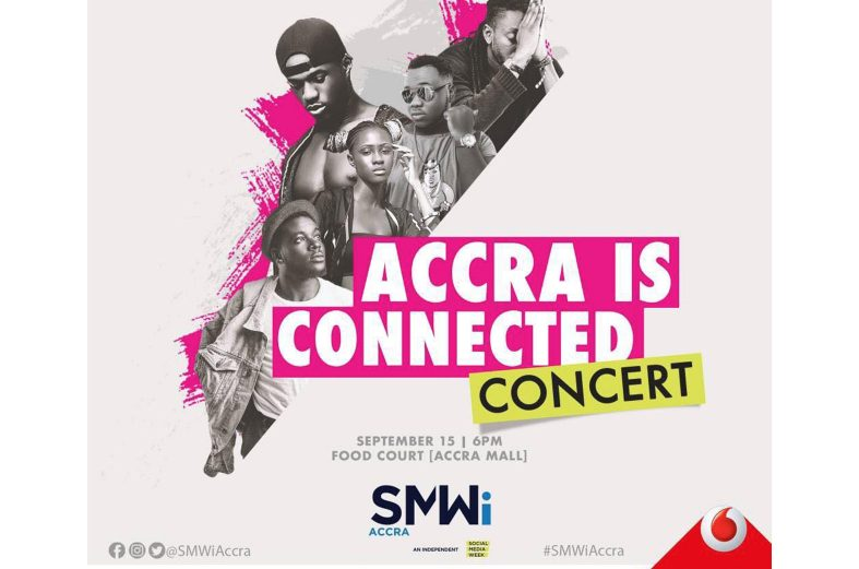 Cina Soul, Pappy Kojo, Joey B, B4Bonah & more for Accra Is Connected.