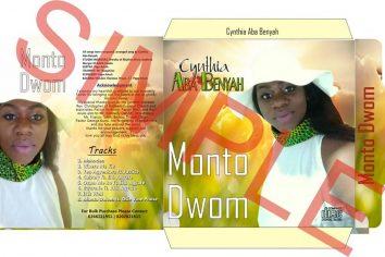 """Cynthia Aba Benyah to touch lives with """"Monto Dwom"""" album"""