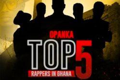 Audio: Top 5 Rappers In Ghana by Opanka