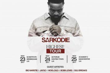 Sarkodie releases Highest UK tour dates